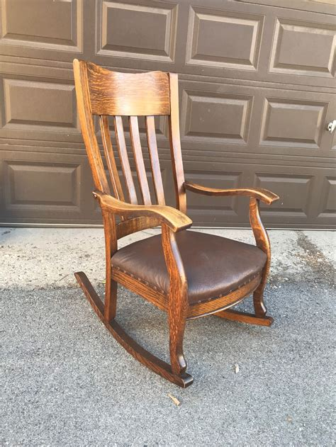 Antique Wooden Rocking Chair UK