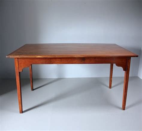 Antique-Cherry-Wood-Farmhouse-Table