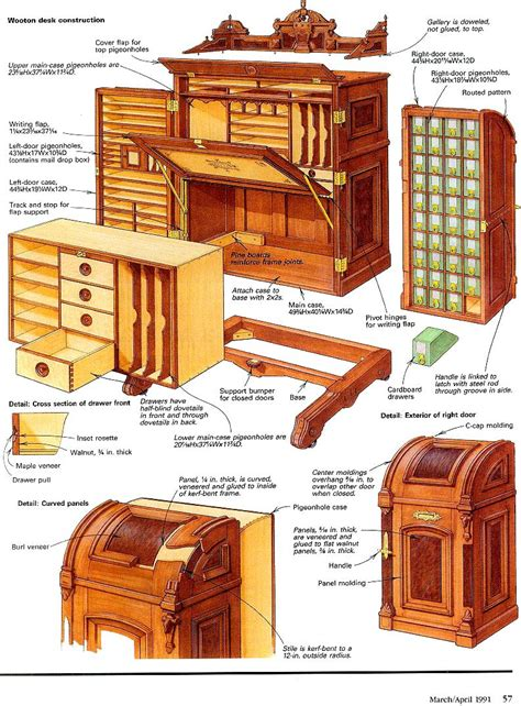 Antique-Desk-Plans