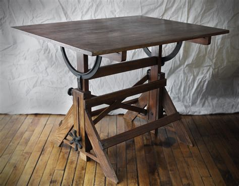Antique-Drafting-Table-Plans