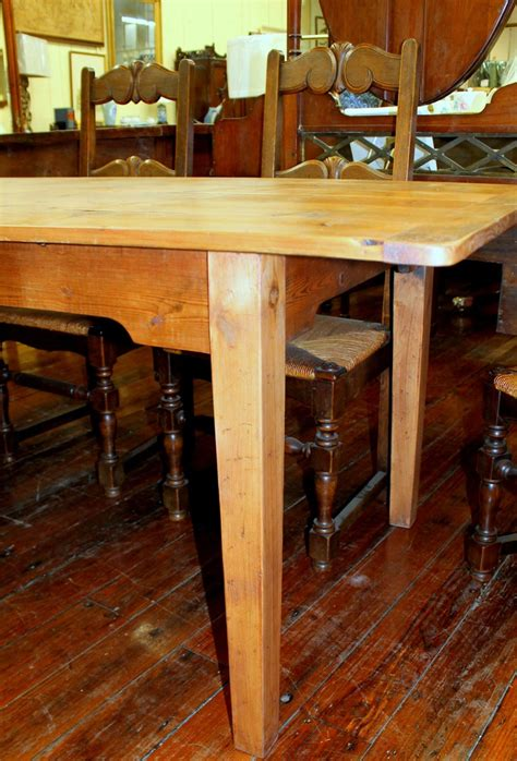 Antique-English-Pine-Farm-Table