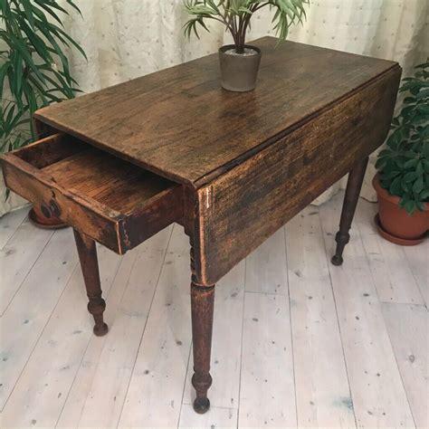 Antique-Farmhouse-Drop-Leaf-Table