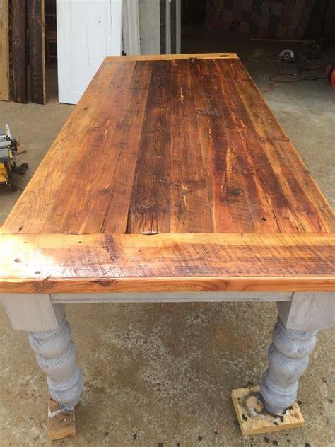 Antique-Heart-Pine-Farmhouse-Table