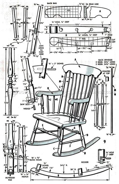 Antique-Rocking-Chair-Plans