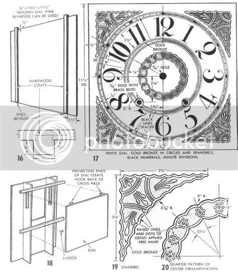 Antique-Wooden-Clock-Plans