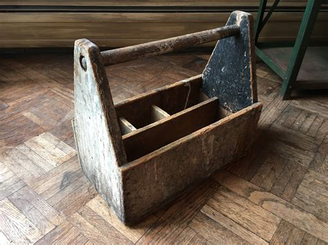 Antique-Woodworking-Tool-Box