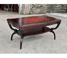 Best Antique coffee tables mahogany