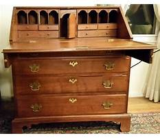 Best Antique drop front desk