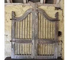 Best Antique wooden garden gates