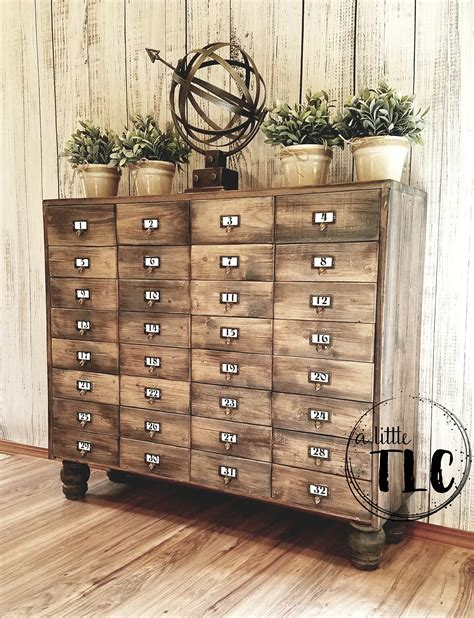 Apothecary Chest DIY