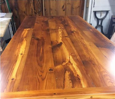 Apply Tung Oil To Pine