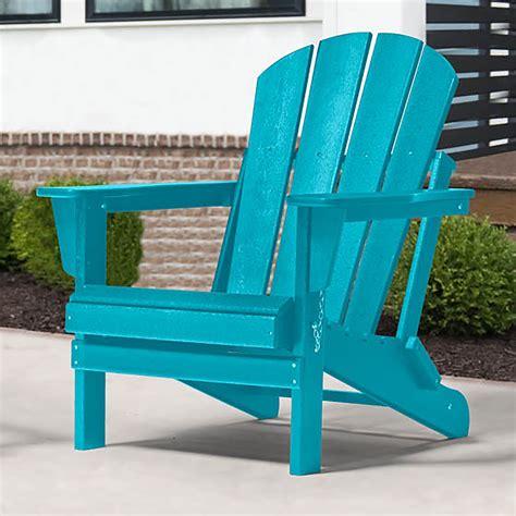 Aqua-Plastic-Adirondack-Chairs