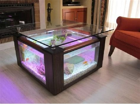 Aquarium Coffee Table Diy Restoration