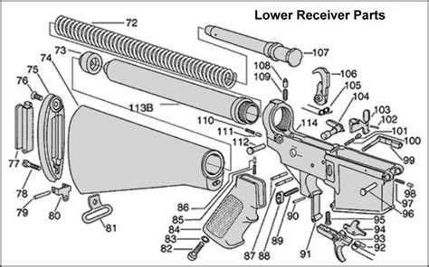 Ar 15 Lower Parts Kit Diagram Labeled Sewing Machine .