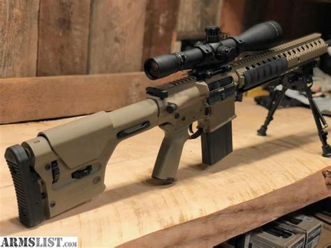 Ar 10 Sniper Rifle For Sale And Biometric In Wall Rifle Safe