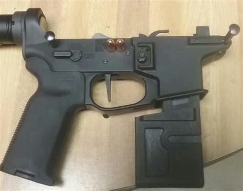Ar 15 9mm Lower Receiver Block And Ar 15 Lower Receiver Aim Surplus