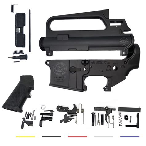 Ar 15 A2 Upper Parts Kit And Ar 15 Lower Parts Kit Without Fire Control Group