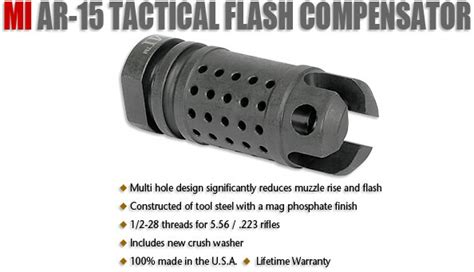 Ar15 Flash Hider Midwest Gun Works And Muzzle Devices Rifle Parts At Brownells