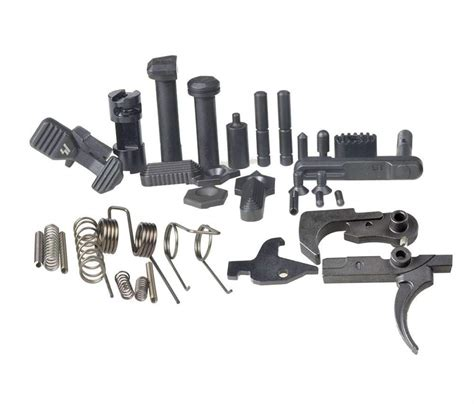 Ar15 Lower Parts With Enhanced Trigger And Assemble Ar Lower Receiver