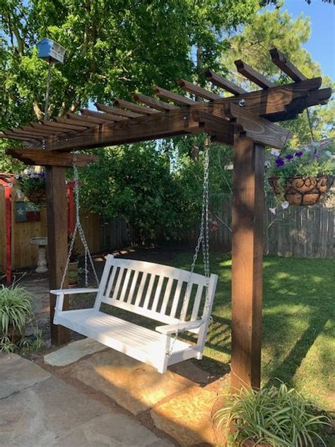 Arbor Porch Swing Plans Ana