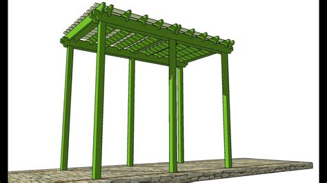 Arbor Trellis Plans Youtube