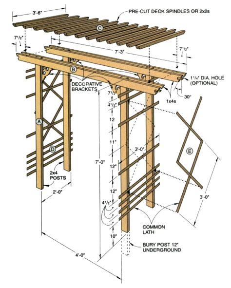 Arbor-Construction-Plans