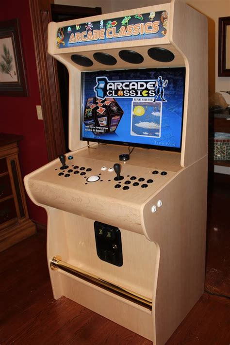 Arcade video game cabinet plans Image
