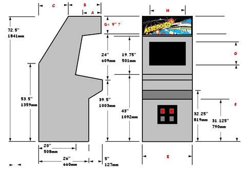 Arcade-Cabinet-Plans-Dwg