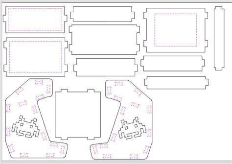 Arcade-Cabinet-Plans-Dxf