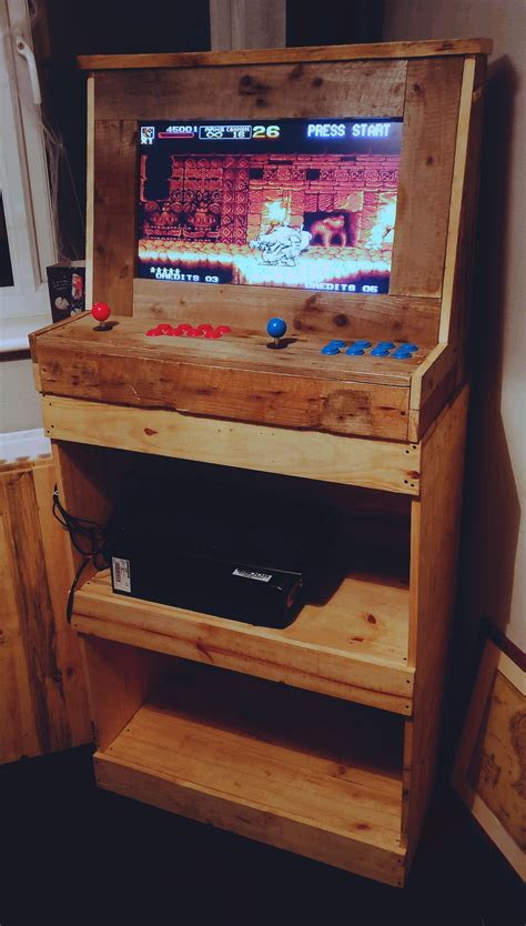 Arcade-Cabinet-Woodworking