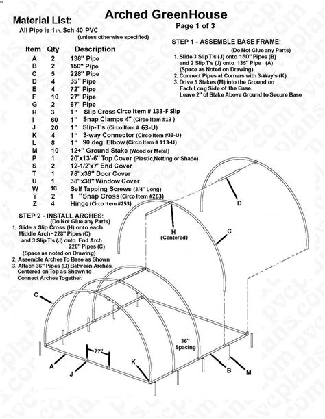 Arched-Pvc-Greenhouse-Plans