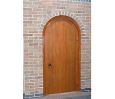 Best Arched garden gate with frame