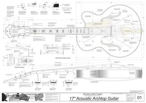 Archtop Guitar Plans Free Download