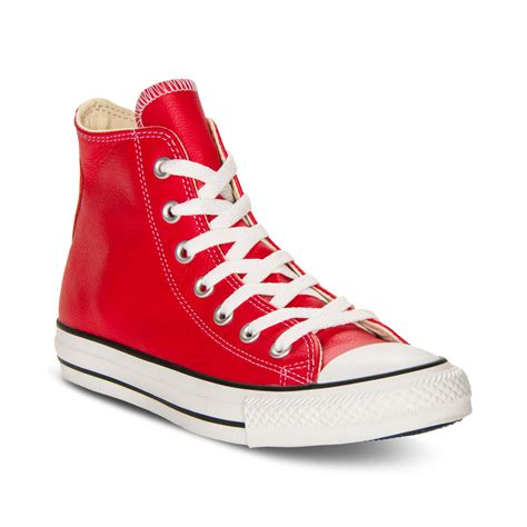 Are Converse Sneakers Leather