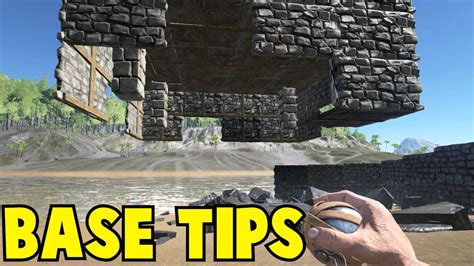 Ark Base Building Tips