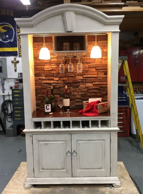 Armoire Bar Diy Design