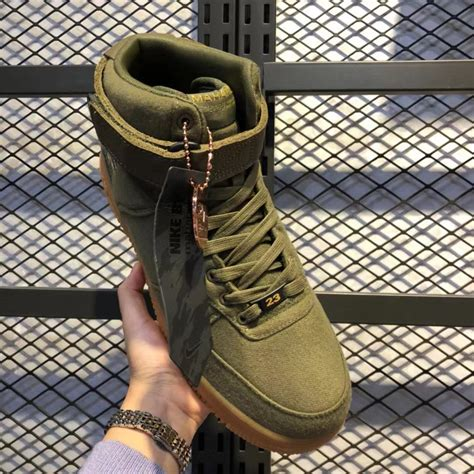 Army Green Nike Sneakers