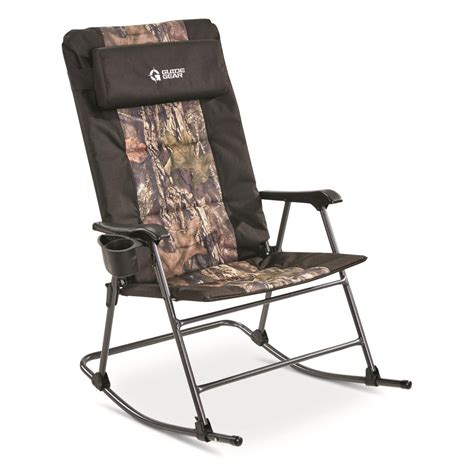 Army Rocking Camp Chair