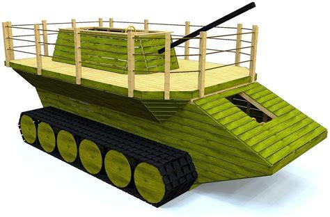 Army-Tank-Playhouse-Plans