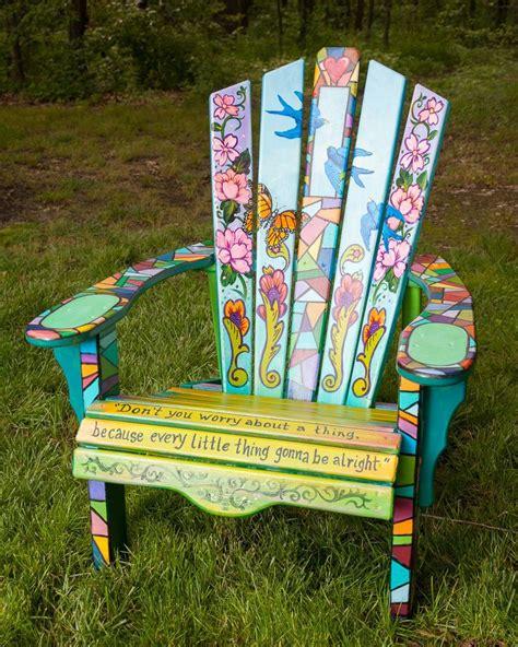 Art-On-Adirondack-Chairs