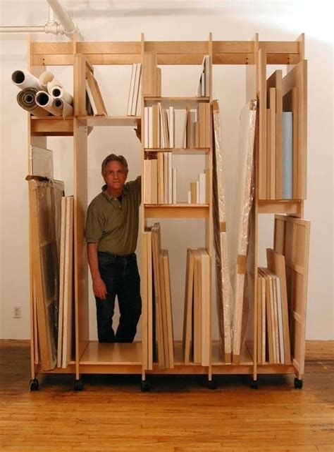 Art-Storage-Rack-Plans