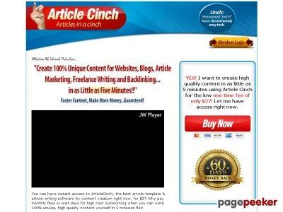 @ Articlecinch  Article Template  Article Writing Software .