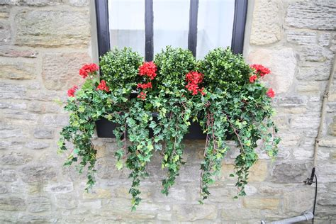 Artificial Plants For Outdoor Window Boxes
