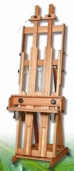 Artist H Frame Easel Woodworking Plans
