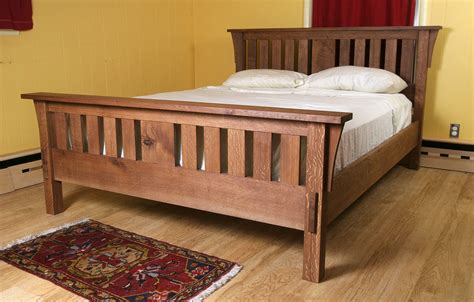 Arts And Crafts Bed Frame Plans