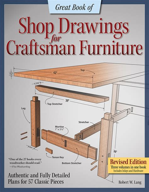 Arts And Crafts Furniture Plans Free