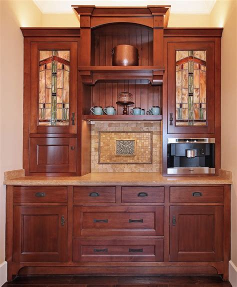 Arts And Crafts Style Cabinet Doors