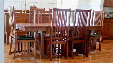 Arts And Crafts Style Dining Room Chair Plans