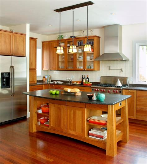 Arts-And-Crafts-Kitchen-Island-Plans