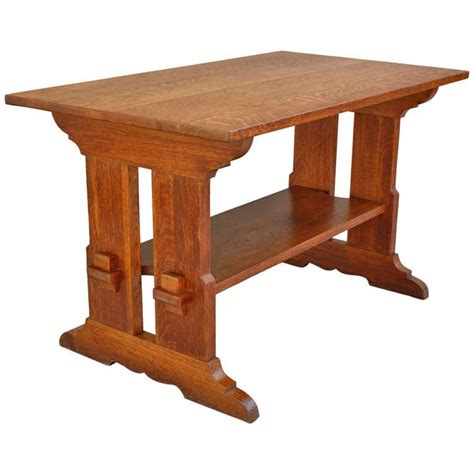 Arts-And-Crafts-Tressle-Table-Plans